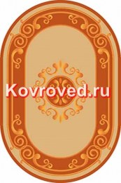 paradise-y613-beige-orange-oval